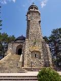 Il mausoleo di Mateias è un monumento dedicato agli eroi della guerra nazionale di integrazione fra 1916-1918 Immagine Stock Libera da Diritti