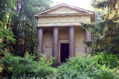 Il mausoleo di Paolo I fotografia stock libera da diritti