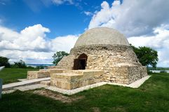 Il mausoleo nordico, cantina del monastero fotografia stock
