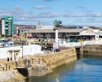 Il Mayflower fa un passo Plymouth Fotografia Stock Libera da Diritti
