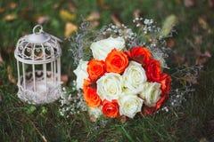 Il mazzo della sposa Immagini Stock