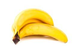 Il mazzo di banane ha isolato fotografia stock