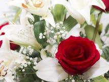 Il mazzo di fiori Immagini Stock Libere da Diritti