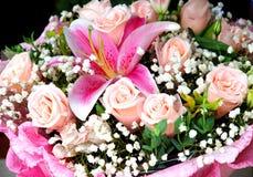 Il mazzo di fiori Fotografia Stock