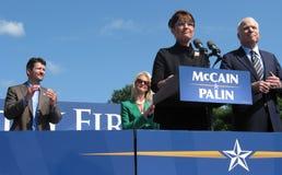 Il McCains e il Palins Fotografia Stock