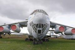 IL-76MD-, militärt transportflygplan (1971) max hastighet km/h-8 Fotografering för Bildbyråer