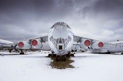 IL - 76MD - wojskowego przewieziony samolot Zdjęcie Stock