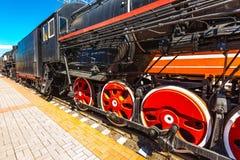 Il meccanismo dell'attuatore del Soviet si buca la locomotiva del trasporto Immagini Stock