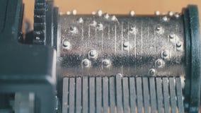 Il meccanismo di Music Box gira archivi video