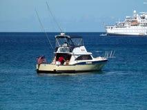 Il med del club chiama a Bequia in Isole Sopravento meridionali Fotografia Stock