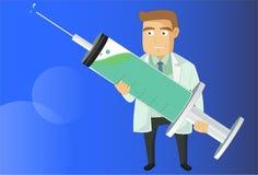 Il medico Immagine Stock