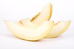 Il melone del taglio Immagine Stock