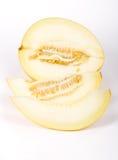 Il melone del taglio Fotografia Stock Libera da Diritti