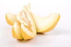 Il melone del taglio Immagini Stock