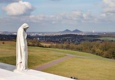 Il memoriale canadese di guerra di Vimy Ridge Fotografie Stock