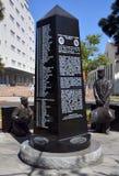Il memoriale dei portaerei fotografie stock