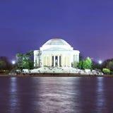 Il memoriale del Jefferson al crepuscolo, Washington DC, S Immagine Stock Libera da Diritti