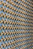 Il memoriale della seconda guerra mondiale Stars la struttura franco del primo piano dell'acqua della riflessione Fotografia Stock