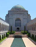 Il memoriale di guerra australiano a Canberra Fotografia Stock