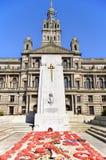 Il memoriale di guerra del cenotafio Fotografia Stock Libera da Diritti