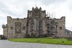Il memoriale di guerra nazionale scozzese alloggiato in un blocchetto ricostruito della caserma nel quadrato della corona, al cas Immagini Stock Libere da Diritti