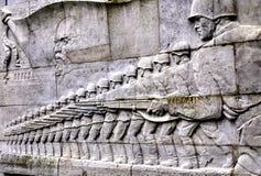 Il memoriale di guerra sovietico Fotografie Stock Libere da Diritti