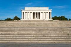 Il memoriale di Lincoln in DC di Washington C Fotografia Stock