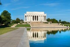 Il memoriale di Lincoln in DC di Washington C Immagine Stock