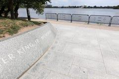 Il memoriale di Martin Luther King Fotografia Stock
