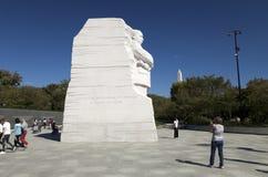 Il memoriale di Martin Luther King Jr commemorativo Fotografie Stock Libere da Diritti