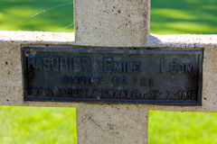 Il memoriale di Thiepval alla sig.na della Somme Immagini Stock Libere da Diritti