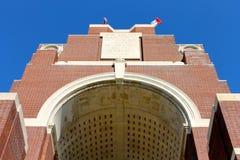 Il memoriale di Thiepval alla sig.na della Somme Immagine Stock