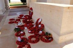 Il memoriale di Thiepval alla sig.na della Somme Fotografia Stock