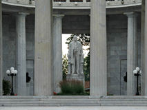 Il memoriale nazionale del luogo di nascita di McKinley in Niles Ohio Immagine Stock Libera da Diritti