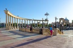 Il Mercato的企业和购物和娱乐区在Hadaba, Sharm El谢赫,埃及 图库摄影