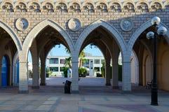 Il Mercato的企业和购物和娱乐区建筑学在Hadaba, Sharm El谢赫,埃及 免版税图库摄影