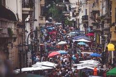 Il mercato è nella via in Argentina Shevelev Immagini Stock