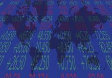 Il mercato azionario royalty illustrazione gratis