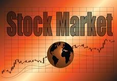 Il mercato azionario immagine stock libera da diritti