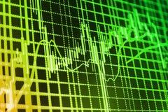 Il mercato azionario cita il grafico immagine stock libera da diritti
