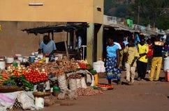 Il mercato Chipata zambia fotografia stock