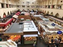 Il mercato Corridoio a Stuttgart Fotografia Stock
