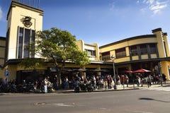 Il mercato dei lavoratori della città di Funchal Madera immagine stock