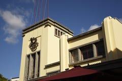 Il mercato dei lavoratori della città di Funchal Madera immagini stock libere da diritti