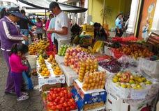 Il mercato dell'agricoltore Fotografia Stock
