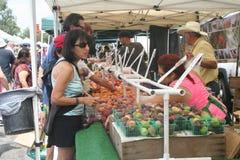 Il mercato dell'agricoltore di Long Beach Immagini Stock