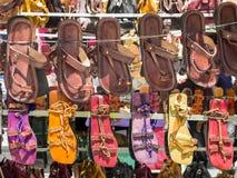 Il mercato di strada tipico della città di Madrid Fotografie Stock Libere da Diritti