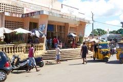 Il mercato di Ville dell'inferno, curioso è, il Madagascar Fotografia Stock Libera da Diritti