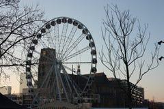 Il mercato famoso del cuore di grande citt? di Rotterdam, una metropoli olandese immagini stock libere da diritti