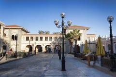 Il Merkato är affärsområdet av staden Arkivbilder
